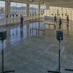 Janet Cardiff, The Forty Part Motet (installation view, Gallery 308, Fort Mason Center for Arts & Culture), 2015; co-presented by Fort Mason Center for Arts & Culture and the San Francisco Museum of Modern Art.    photo: jka photography