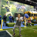 Lots of room for families at the NFL Experience.     photo: sfbaysuperbowl.com