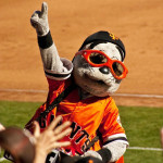Lou Seal will make a special appearance at the April 15 screening of The Sandlot for  Family Movie NIghts in the Presidio.     photo: bryce Edwards / flickr