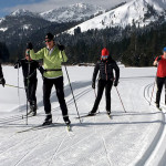 Nordic skiing is one of the most healthful exercises you can perform.    Photo: Mark Nadell