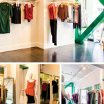 The Paris-designed clothing line at Les Lunes on Fillmore Street is made from bamboo. photo: LESLUNES.com