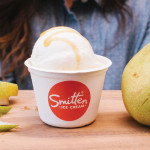 Crème fraîche with pear caramel is the featured Smitten flavor for September. Photo: Audrey Rotermund