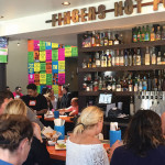 Crowds enjoy Tacolicious's new location at 2031 Chestnut Street.  PHOTO: Earl Adkins