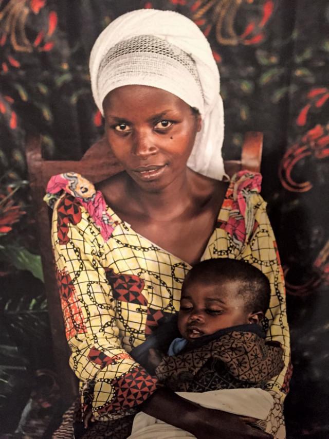 Alexia Webster, Refugee Street Studio, Bulengo IDP camp, D. R. Congo, 2014–ongoing, digital archival print. Photos: Lexie Lee