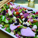 The muffaletta chopped salad at The Elite Cafe. Photo: tablehopper.com