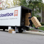 Pick-up and delivery are part of the door-to-door services from Closetbox. photo: Courtesy Closetbox