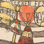 Paul Klee, Laternenfest Bauhaus 1922 (Bauhaus Lantern Festival 1922), 1922; extended loan and promised gift of the Djerassi Art Trust. photo: DON ROSS
