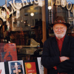 You never know who you'll run into at City Lights Bookstore — maybe even  Lawrence Ferlinghetti.  photo: Stacey Lewis