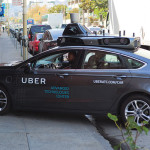 Uber's test of self-driving vehicles in San Francisco was cut short. photo: Dllu