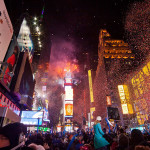 New Year's Eve in Times Square. (Photo: Anthony Quintano)