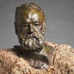 Auguste Rodin, Victor Hugo, 1883. Bronze with Marble Base, 15-7/8 x 10-7/16 x 9-3/8 in. Fine Arts Museums of San Francisco, gift of Alma de Bretteville Spreckels, 1942.37 photo: FAMSF