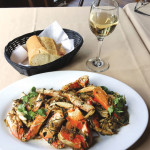 Wok crab at Betty Lou's Seafood & Grill.  photo: Earl Adkins