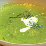 Zuckerman Farms asparagus soup. Photo: susan dyer reynolds