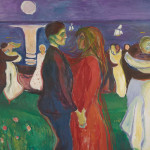 Edvard Munch, The Dance of Life, 1925; oil on canvas; 56 5/16 x 81 7/8 in.; photo: courtesy the Munch Museum, Oslo