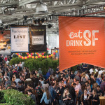 The crowds gather at the Eat Drink SF Festival. photo: Marc Fiorito (Gamma Nine)