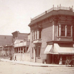 Valentino Market's building, as seen in this photo from more than a century ago.  Photo: courtesy Valentino Market
