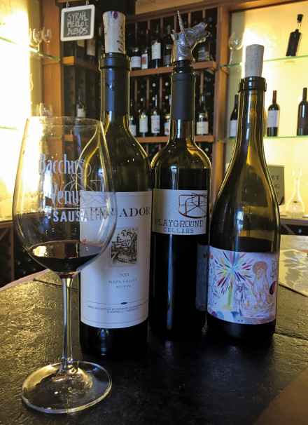 Taste interesting wines at Bacchus and Venus. Photo: Bo Links