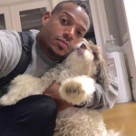 Comedian Marlon Wayans sent this selfie of him with his dog to the Marina Times during a Twitter exchange about former NFL quarterback and convicted dogfighting ringmaster Michael Vick.