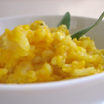 Use Italian short-grain rice to give the risotto its creaminess. Photo: Susan Dyer Reynolds