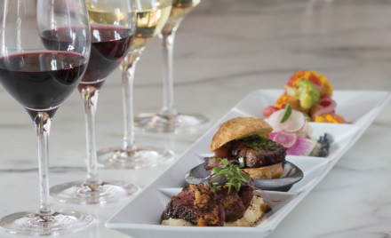 A Palate Play wine and food pairing. Photo: courtesy Ram's Gate Winery