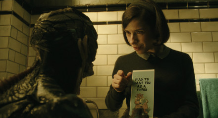 Doug Jones and Sally Hawkins in the film The Shape of Water.  Photo Courtesy of Fox Searchlight Pictures, ©2017 Twentieth Century Fox Film Corporation