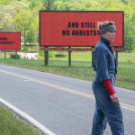 Frances McDormand in the film Three Billboards Outside Ebbing, Missouri.   Photo: Merrick Morton, ©2017 Twentieth Century Fox Film Corporation
