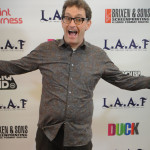 Comedian, singer, voice actor Tom Kenny at the LA Animation Festival. Photo:  The Conmunity - Pop Culture Geek