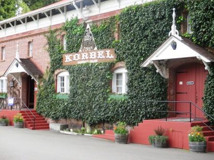 Visit historic Korbel. Photo: Bo Links