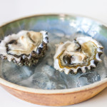 Oysters paired with tea are an unexpected taste treat.  Photo: Anna Mariani