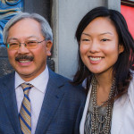Mayor Ed Lee, with possible successor Supervisor Jane Kim. Photo: Kegan Marling